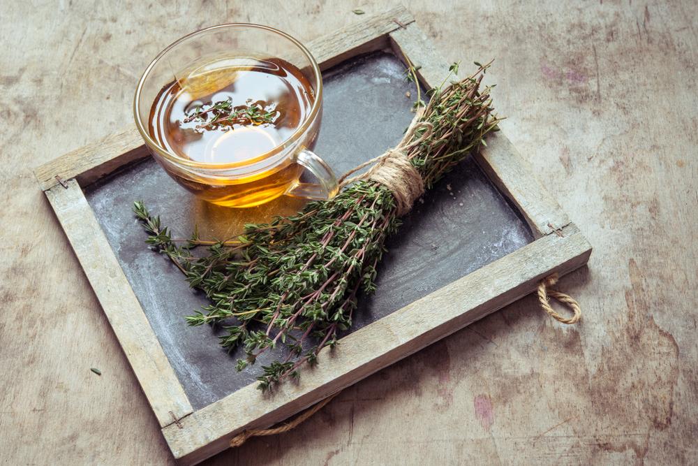 thyme tea nutraphoria school of holistic nutrition