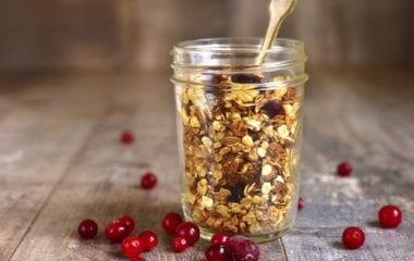 Homemade Granola Nutraphoria