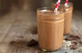 Chocolate Banana Smoothie Nutraphoria