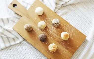 Raw Cacao Bliss Balls Nutraphoria