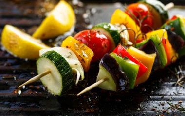BBQ Veggie Kebabs Nutraphoria