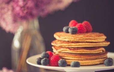 Spelt Blueberry Pancakes Nutraphoria