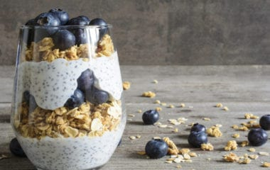 3 Layer Chia Pudding Breakfast Nutraphoria