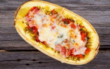 Spaghetti Squash Lasagne Nutraphoria