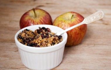 Apple Berry Dessert Nutraphoria