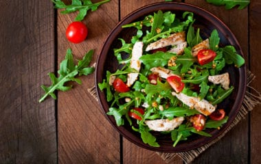 Salad With Chicken Breast Nutraphoria