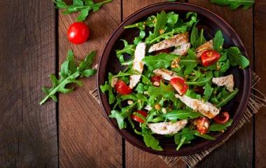 Salad With Chicken Breast Nutraphoria