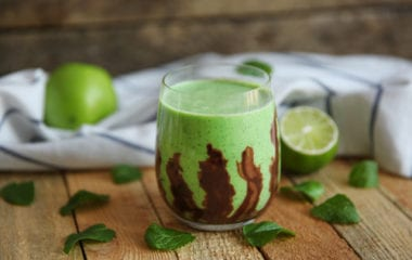 Mint Chocolate Smoothie Nutraphoria