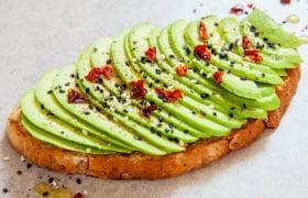 Spicy Avocado Toast Nutraphoria