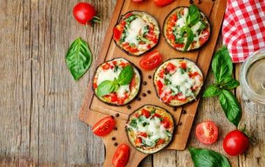 Eggplant Pizza Recipe Nutraphoria