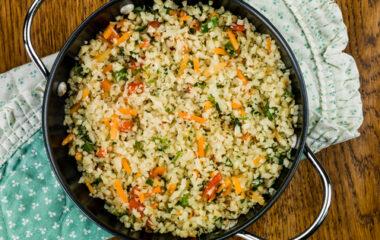 "Kimchi Fried ""Rice"" Nutraphoria"