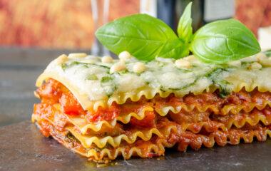 Veggie Lasagna Nutraphoria