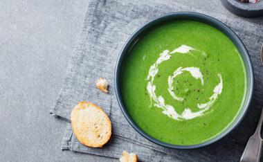 Spinach Soup Nutraphoria