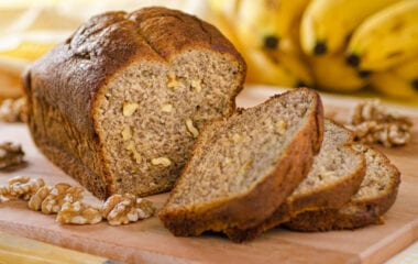 Healthy Omega Banana Bread